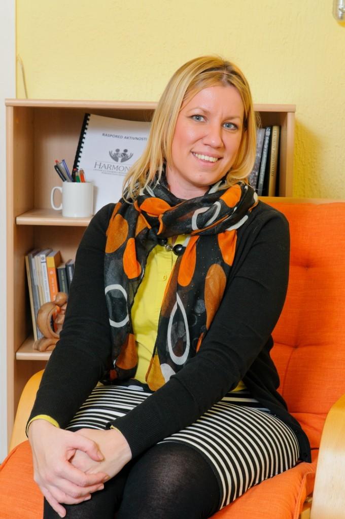 Jelena Branković – psiholog i sistemski porodični psihoterapeut - koordinator Centra
